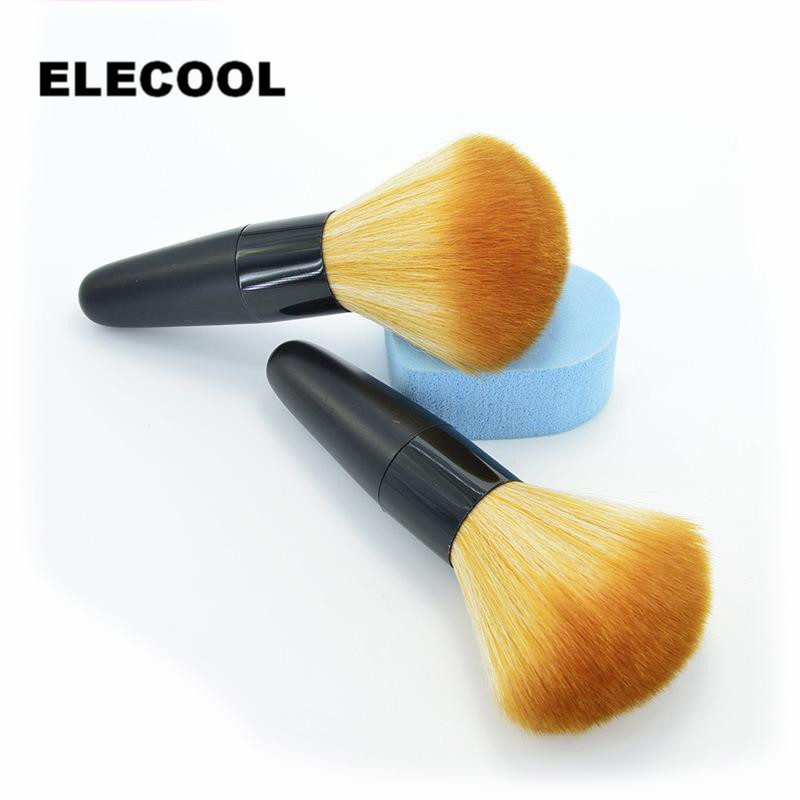 ELECOOL 1 Pcs Beauty  Women Soft Face Cosmetic Make up Brush Big Loose Powder Brush 2017 professional 1pcs beauty women powder single soft face cosmetic makeup brush big loose