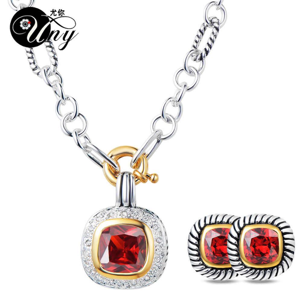 UNY Thời Trang Phụ Nữ Đồ Trang Sức Bộ Thiết Kế Lấy Cảm Hứng Từ Cổ Điển Jewelrys Bộ Cổ Thời Trang Hợp Thời Trang Đồ Trang Sức Thiết Giáng Sinh Jewelrys Bộ
