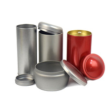 цена на Xin Jia Yi Packaging Box Food Grade Connect Lid For Recycling One Gallon Tea Container Factory Sale Metal Tin Round Boxes