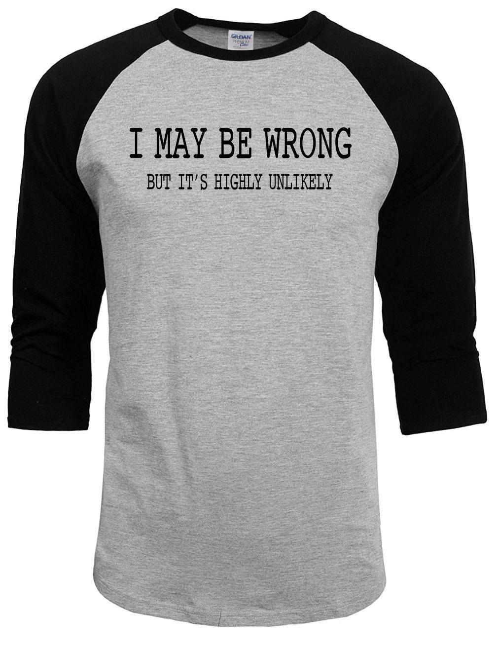 2017 new fashion t shirts Mens Funny Sayings Slogans T Shirts I ...
