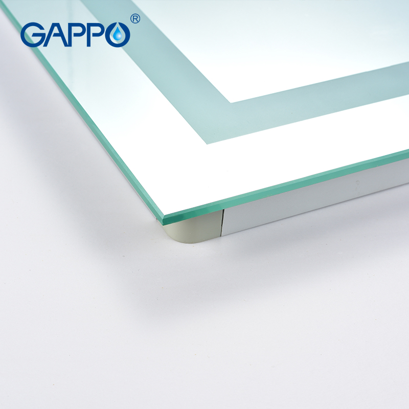 Gappo luz para espejo de baño con LED maquillaje luces de espejo para baño ESPEJOS rectangulares - 5