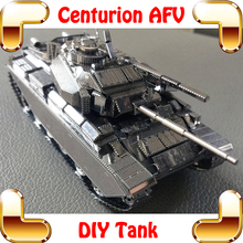 New Arrival Gift Centurion AFV 3D Metal Model Military DIY Collection Building KIts Scale Assemble Toys Steel Decoration Present