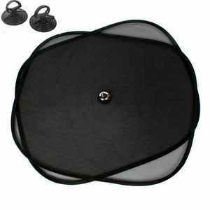 2Pcs/Set 44*37cm Black Car Sun