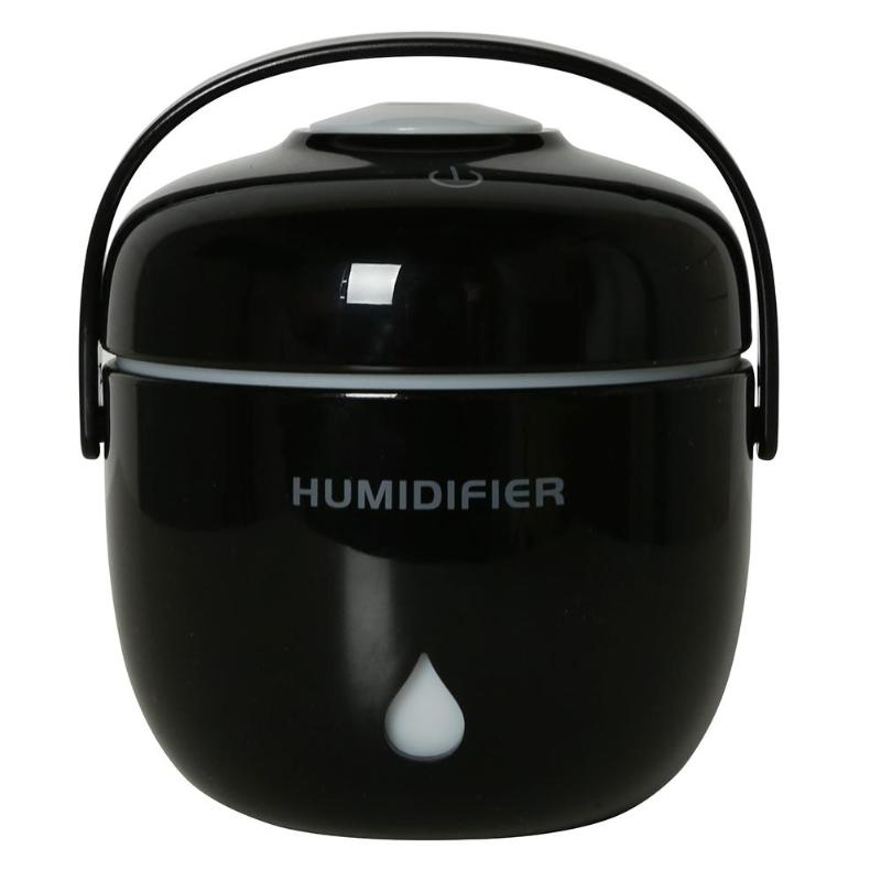 230ml Mini Portable Ultrasonic USB Aroma Humidifier Diffuser Purifier Home Office Atomizer Rice cooker Humidifier
