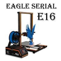 Anet E16 E10 E12 FDM 3D Printer Kit High Precision Z axis double screw Reprap Prusa I3 Desktop 3D Printer DIY with PLA Filament