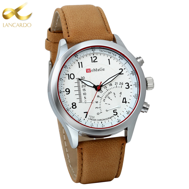 Lancardo 2017 Fashion Quartz Watch Men Watches Top Brand Luxury Male Clock Business Mens Wrist Watch Hodinky Relogio Masculino new fashion men business quartz watches top brand luxury curren mens wrist watch full steel man square watch male clocks relogio