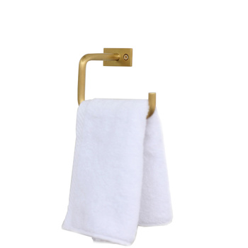 2018 Retro Simple Towel rack Toilet Bathroom Toilet roll Hotel Engineering Brass Towel rack LO4243