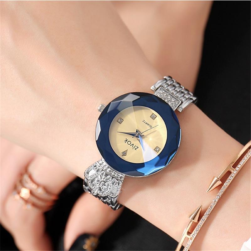 zivok luxe dames armband horloges rose goud mode quartz polshorloge - Dameshorloges - Foto 4