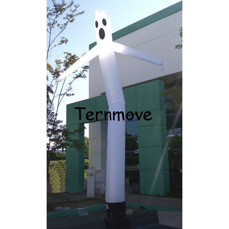 halloween sky dancers inflatable ghost wave man air walker balloons cartoon sky dancer dancing air balloon встраиваемый светильник lightstar lega qua 011032