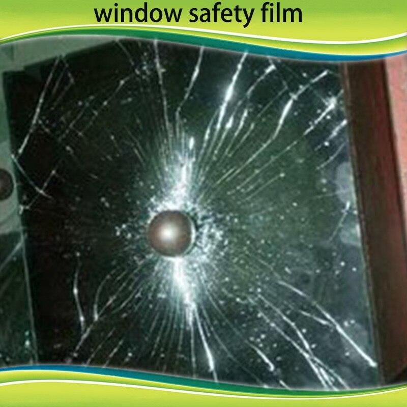 Бесплатная доставка 4mil 1.52*10 м окна Детская безопасность Плёнки-безопасности и sceurity Стекло защиты Плёнки 60 дюймов * 33ft