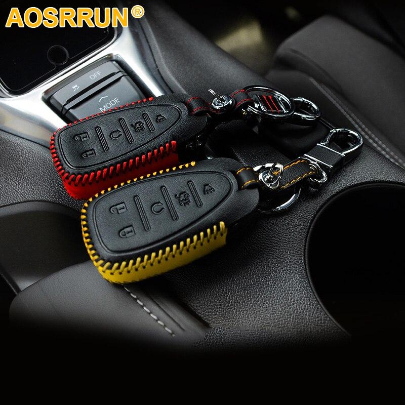 Streng Aosrrun Auto Accessoires Klep Sleutel Tas Voor Chevrolet Camaro 2016 2017 2018 Kortingen Prijs