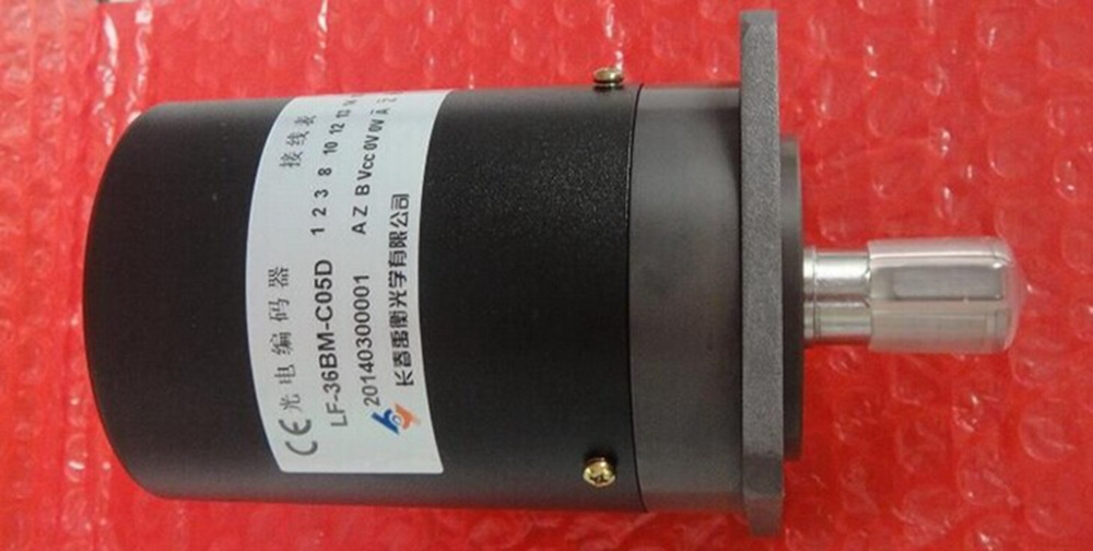 LF-36BM-C05D common 19-pin socket Changchun Yuheng incremental rotary encoders solid shaft completely replace the type