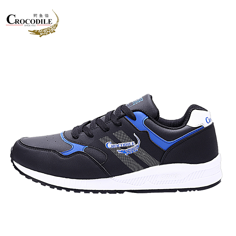 Crocodile Original Running Shoes for Men Jogging Basketball Shoes Free Run Zapatillas Stable Trainer Sneaker Male athletic Shoe crocodile original 2018 new men walking shoes male leather working shoes running jogging sneaker for men s flat sport shoes
