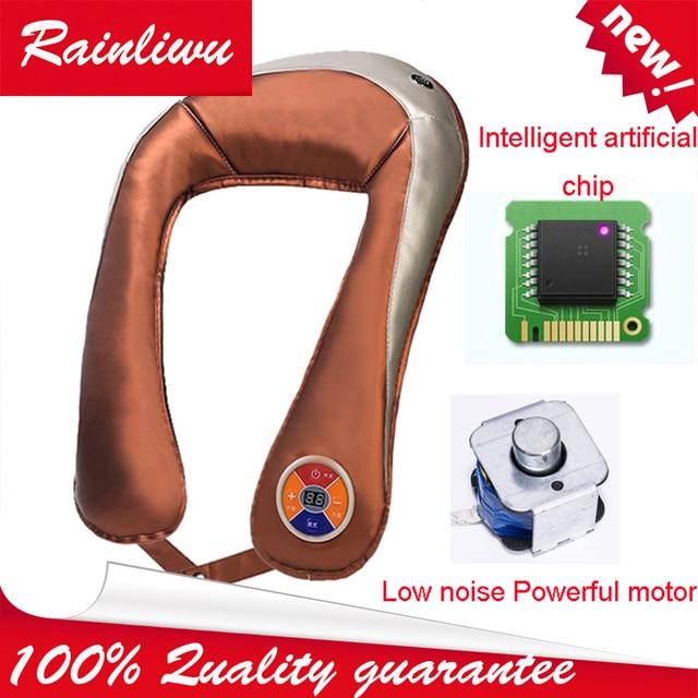 Neck massager Imitation Massage Shawl powerful no noise Massage Instrument Women beauty Health Care device
