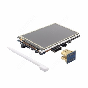 Image 5 - פטל Pi 4 60FPS 3.5 אינץ מגע מסך 320x480 1920x1080 OSD HDMI IPS תצוגה עבור פטל Pi 4 דגם B/3B +/3B/2B/אפס W