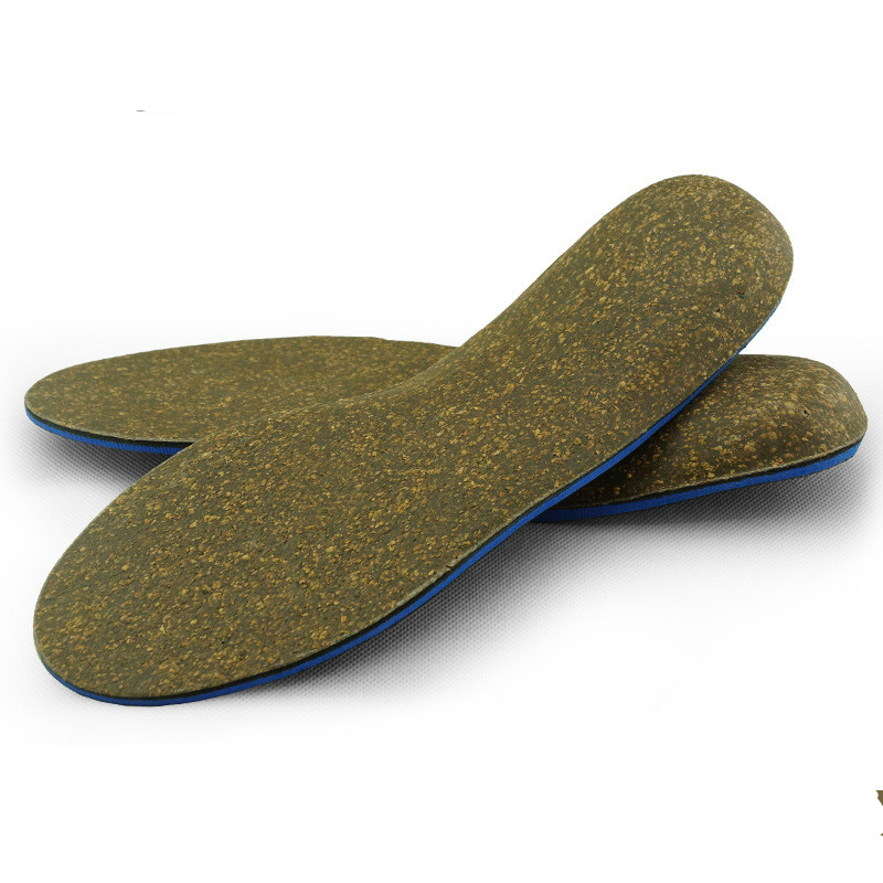 c4f820f202 Detail Feedback Questions about Adult Cork Orthopedic Insole Flat Foot X/o Leg  Correction Damping Orthopedic Insole Arch Support Pad For Shoe Men Women ...