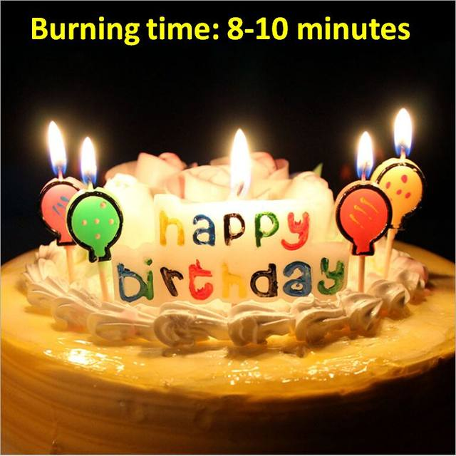 Online Shop Happy Birthday Candle Birthday Cake Candle Wax Candle