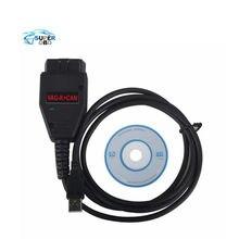 Envío gratis VAG K + CAN Comandante 1.4 obd2 herramienta de Escáner de Diagnóstico OBDII VAG COM 1.4 cable Para vag escáner