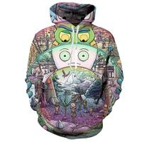 Rick And Morty Hoodies Men Women 3D Sweatshirts Sudadera Hombre Casual Outwear Coats Jackets Pullovers Tracksuit