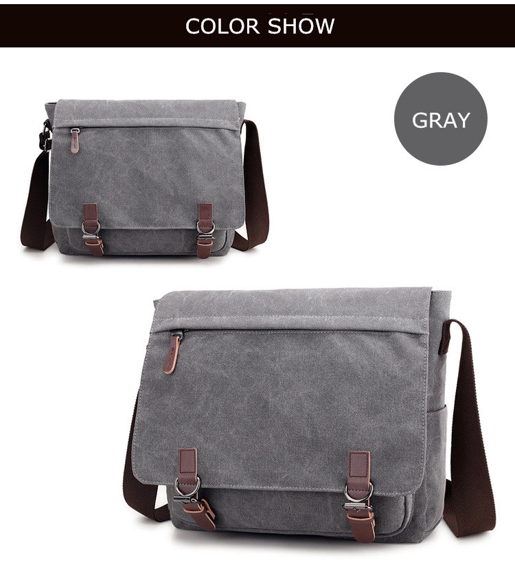 Micom Canvas Men Messenger Bags Vintage Shoulder Belt Bag Large Capacity Business Travel Bag Men\`s Canvas Crossbody Handbag New (13)