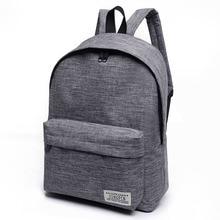2017 new canvas shoulder bag, middle school student Korean Edition wind fashionable travel bag