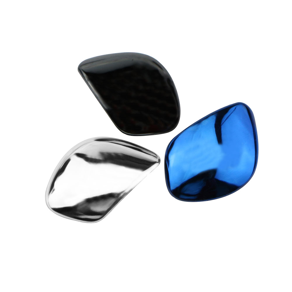 2Pcs/Set DSG Gear Head Shift Knob Protection Cover Trim Sticker <font><b>for</b></font> <font><b>VW</b></font> CC Passat B7L <font><b>Golf</b></font> <font><b>6</b></font> 7 MK6 MK7 <font><b>GTI</b></font> Jetta MK6 <font><b>Accessories</b></font> image