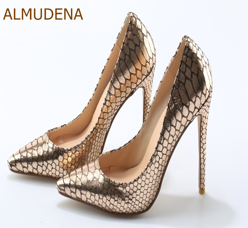 Picture Chic Talon Almudena Heel Taille Discothèque Robe Or other Motif Chaussures Us10 Snakskin Sexy Pompes Ultra Contact Dropship Dames Gladiateur Haute As Uxq5fwqF