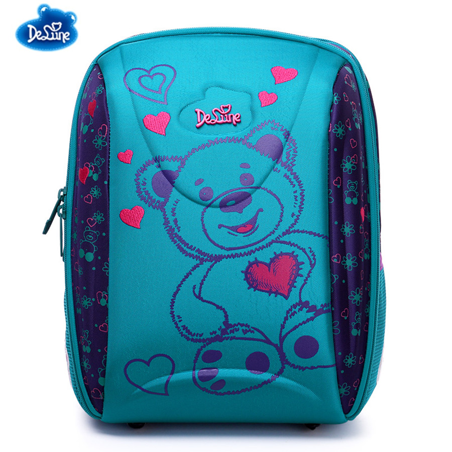Waterproof Children School Bag Orthopedic Backpacks for Girls In Grade School,Orthopedic Schoolbag Backpack Mochila Escolar ableme new 2017 children schoolbag backpack mochilas escolares infantis large waterproof comfotable children school bag backpack