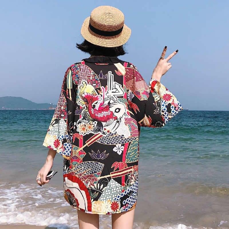 Japanese Kimono Traditional Women Japanese Traditional ...