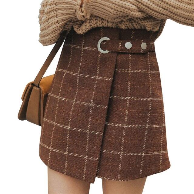Pendleton Woolen Mills 22 Reversible Pleated Skirt