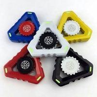 Hand Spinner Tri Finger Fidget Metal Hybird Bearing Gyro Adult Focus Desk Toy