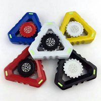 Hand Spinner Tri Finger Fidget Metal Hybird Bearing Gyro Adult Focus Desk Toy