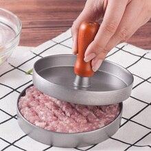G & T 12 см Круглый гамбургер Пресс Алюминиевый сплав Мясо говядины Гриль Бюргер Пресс Пэтти Форт Гамбургер Питтс Maker Кулинарный инструмент