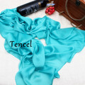 New Arrival 2016 Solid Color Silk Chiffon Scarf Summer Women's Luxurious Brand Tencel Silk Scarf Soft Long Shawls and Scarves