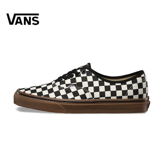 Original New Arrival Vans Men s   Women s Classic Authentic Low-top  Skateboarding Shoes Sneakers Canvas abfe82d9818c