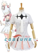 KILL la KILL Nonon Jakuzure Girls Skirt Uniform Shirt Anime Halloween Cosplay Costumes For Women Custom
