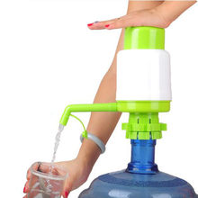 1PC 5 Gallon Bottled Drinking Water Hand Press Manual Pump Dispenser New Brand High Quality Useful Easy extrusion Water L*5(China)