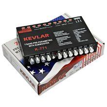 Répartiteur de fréquence pour accordeur Audio de voiture égaliseur pour amplificateur Audio de voiture 7 bandes avec caisson de basses 12V