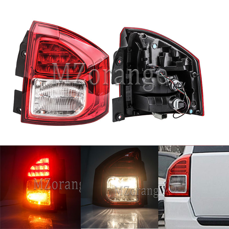MZORANGE For Jeep Compass 2011 14 Tail light Replacement Parts External Rear Left Right Turn Signal