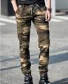 Marca mens joggers pantalones hip hop pantalones patinetas camuflaje sudor pantalones de camuflaje pantalones militares de los hombres pantalon homme