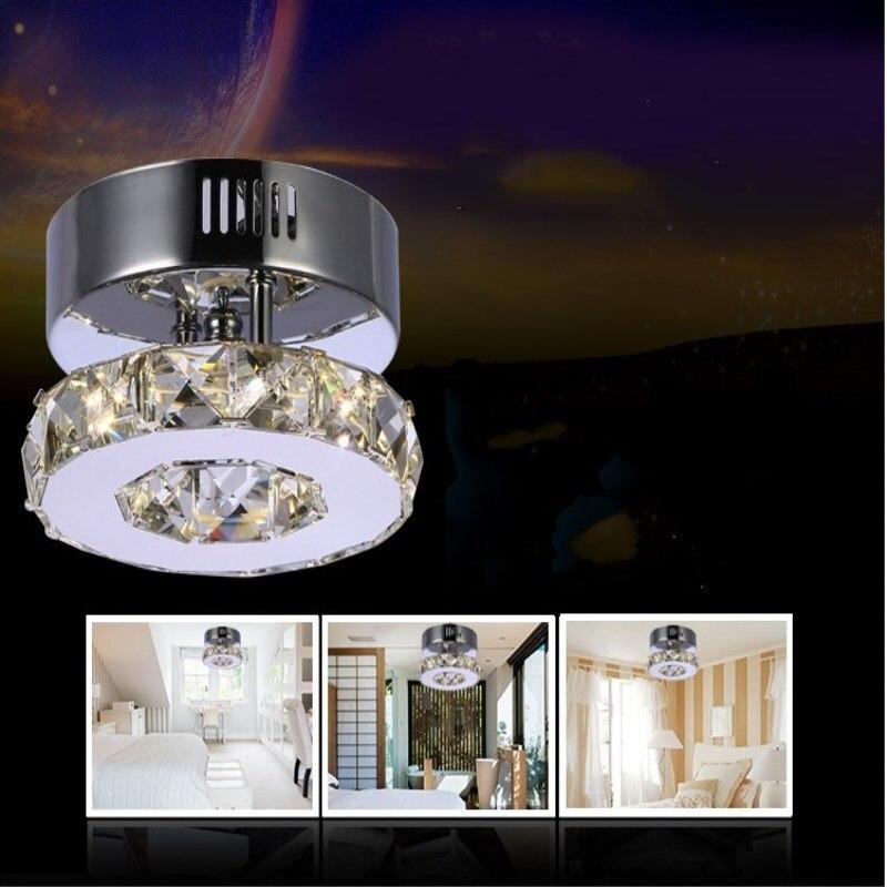 Crystal Luminaria Teto Aisle Lights