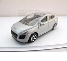Jouets de voiture en alliage échelle 1:64, modèle de voiture PEUGEOT à haute simulation, diecasts en métal, véhicules jouets de collection, cadeau pour enfants, livraison gratuite