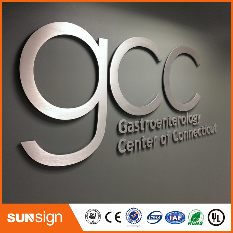 New Stainless Steel Metal Letter 3d Sign