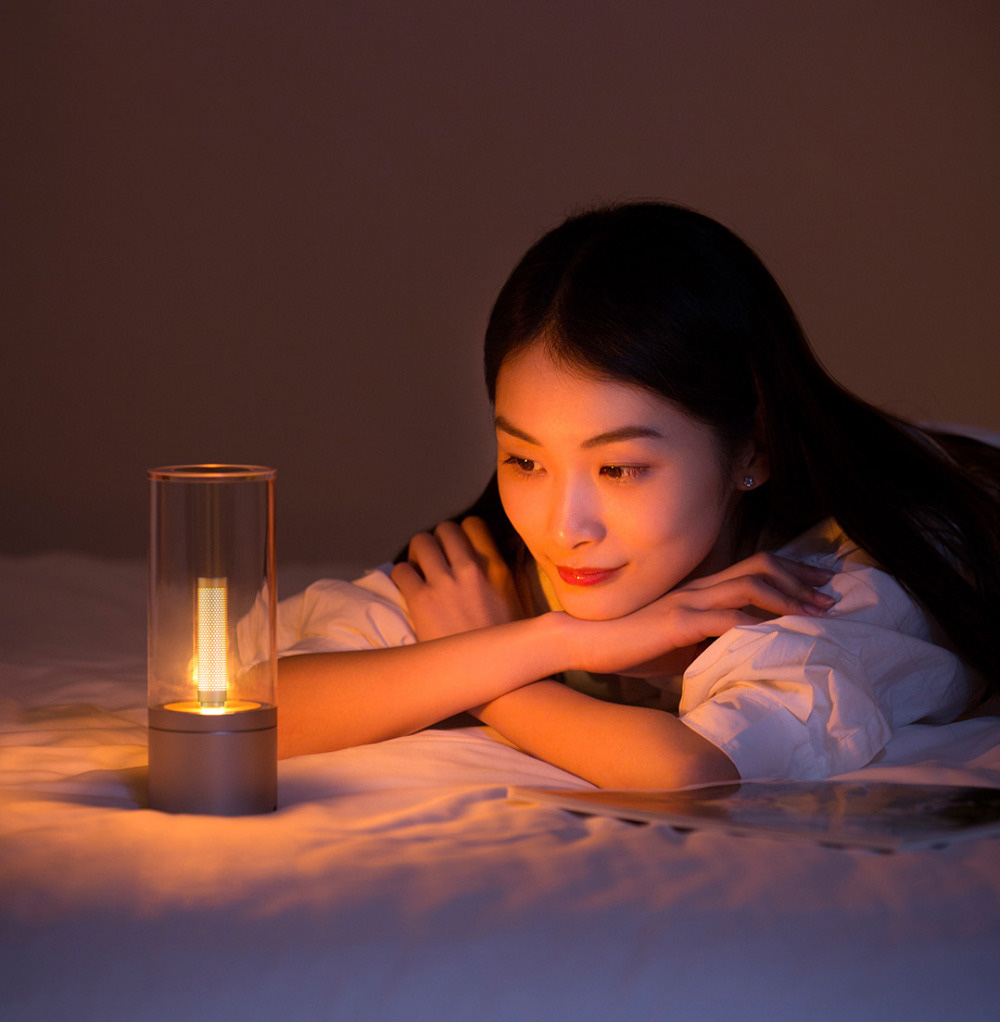 Image 3 - Original xiaomi YEELIGHT mijia Candela Smart Control led night light,Atmosphere light for Mi home app ,Xiaomi smart home kits-in Smart Remote Control from Consumer Electronics