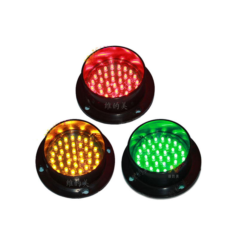 DC12V Mini 82mm LED Traffic Signal Light Replacement Red Yellow Green Traffic Light Module One Lot  On Sale