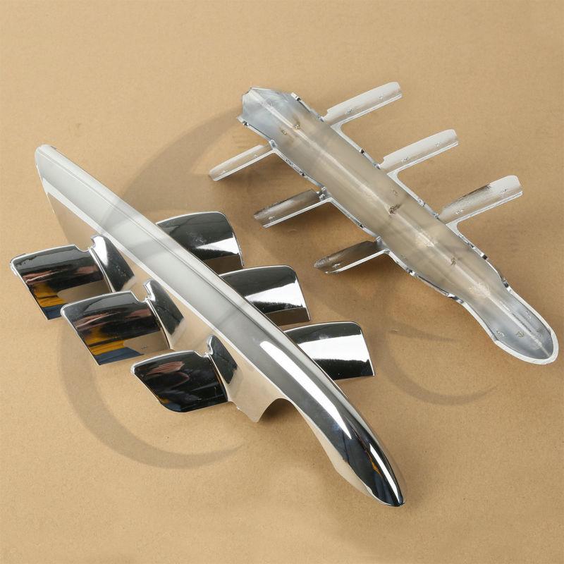 Honda Goldwing GL1800 2001-2010 07 08 09 üçün Chrome Shark Gills - Motosiklet aksesuarları və ehtiyat hissələri - Fotoqrafiya 6