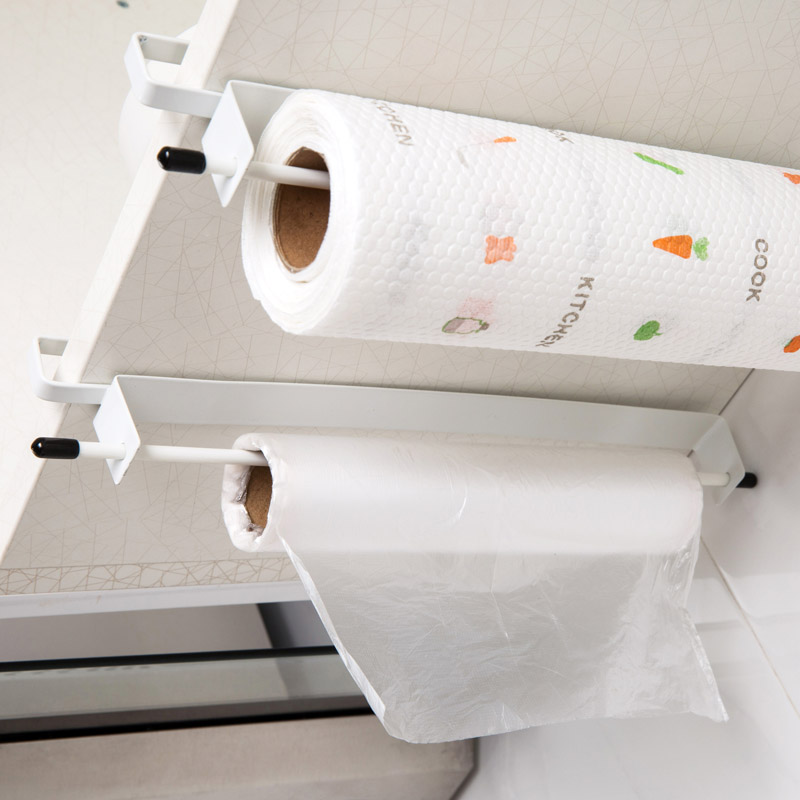 Cabinet Door Roll Paper Holder Free Perforated Wrap Rack Kitchen Paper  Racks Paper Towel Rack Wipes Storage Rack In Racks U0026 Holders From Home U0026  Garden On ...