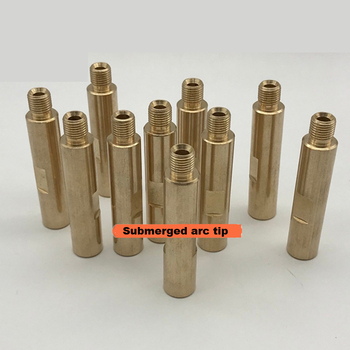 Free Shipping 5Pcs/Lot Submerged Arc Welding Machine Parts Conductive Rod Extension Connecting Tip