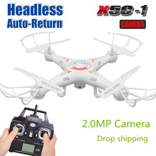 Newest Upgrade  X5C RC Drone with camera X5C-1 Quadrocopter 720P HD  Camera 6-Axis RC Helicopter Kvadrokopter X5 without camera