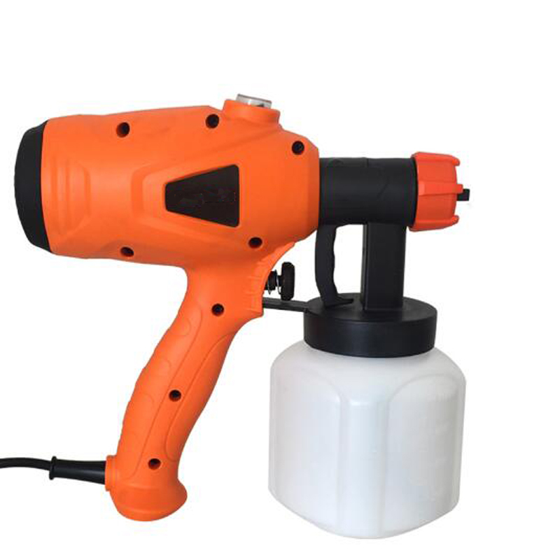 220V 350W Electric Spray Gun Airbrush  HVLP Paint Sprayer Painting Compressor With Adjustable Flow Control 800ml  Nozzle 2.5mm